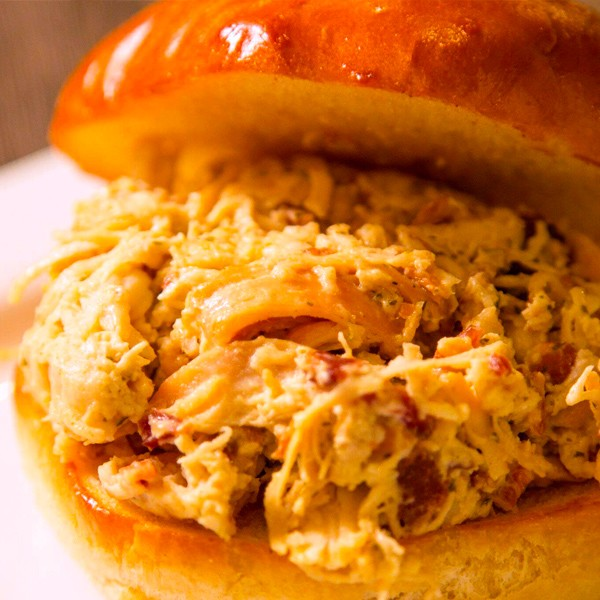 David Reay's - Mississippi Crack Chicken Sandwich
